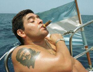 Maradona e Che Guevara