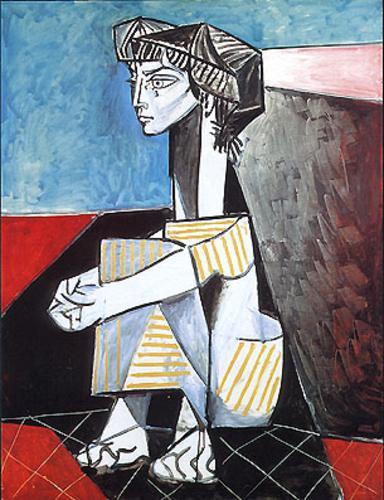 Pablo Picasso_Donna