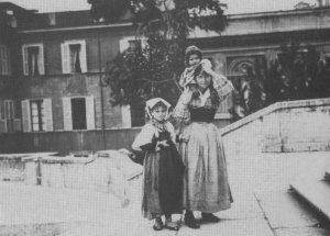 Scalinata di Trinità dei Monti 1880