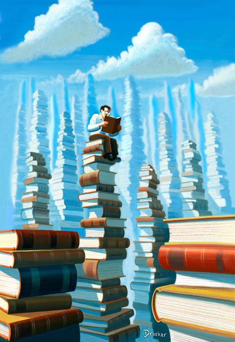 Drooker__Bookpolis